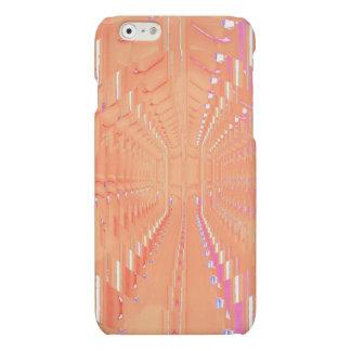Rosa optisk grävaillusion iphone6 Desi för persika