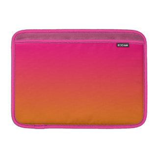 Rosa & orange Ombre Sleeve För MacBook Air