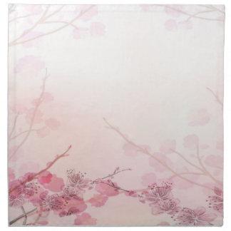 Rosa Orchidbröllop Tygservett