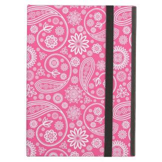 Rosa Paisley mönster Fodral För iPad Air