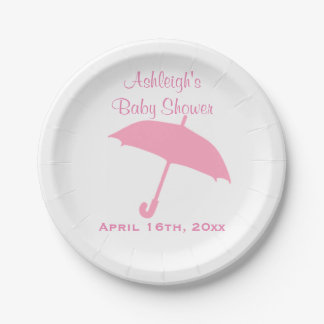 Rosa paraplybaby shower
