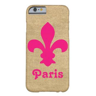 Rosa Parisian Moods Fleur de Lys Barely There iPhone 6 Skal