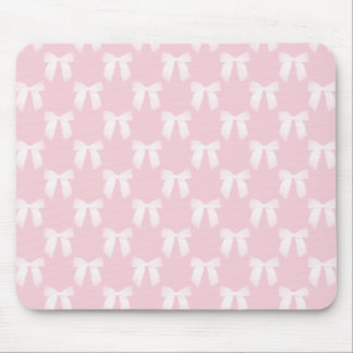 Rosa pastell för baby med vitpilbågar mus matta