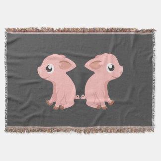 Rosa Piglets Mysfilt