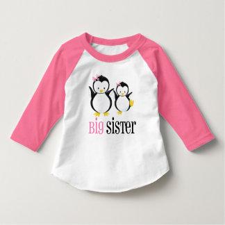 Rosa pingvinT-tröja för storasyster Tröja