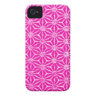 Rosa PinwheelBatikDebs fave iPhone 4 Case-Mate Skal