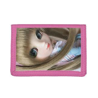rosa plånbok