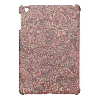 Rosa plommon Paisley iPad Mini Mobil Skydd