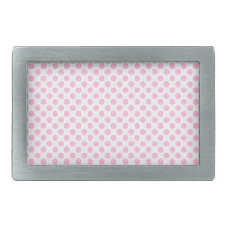 Rosa polka dots med anpassadebakgrund