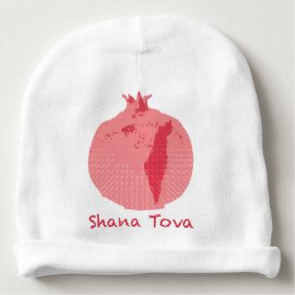 Rosa Pomegranatebaby hatt för spädbarn för stöd