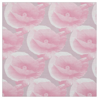 rosa poppies. tyg