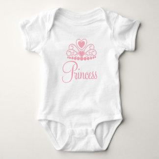 Rosa Princess Behandla som ett barn Onsie Bodysuit Tshirts