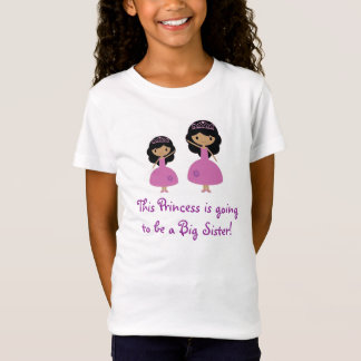 Rosa Princess storasyster - mörk flår T Shirt