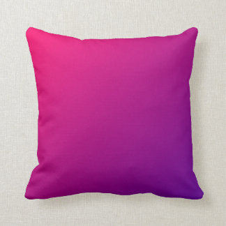 Rosa purpurfärgade Ombre Kudde