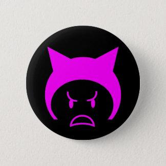 Rosa pussyhatt standard knapp rund 5.7 cm