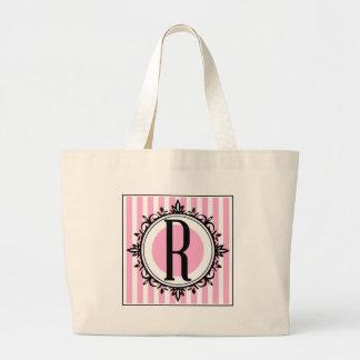 Rosa r- monogram tote bag