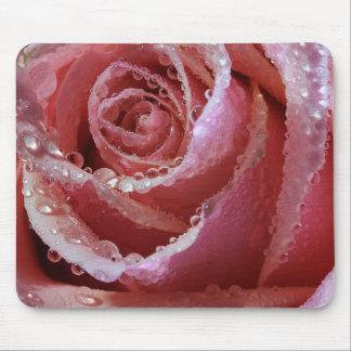 Rosa ros dyrbara Mousepad Musmatta