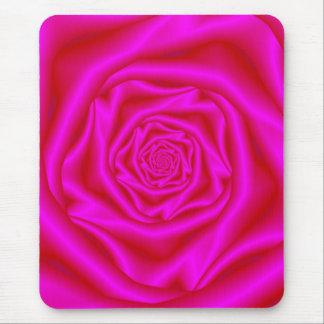 Rosa ros spiral Mousepad Musmatta