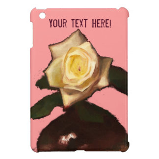 Rosa ros vadderar jag fodral iPad mini mobil fodral