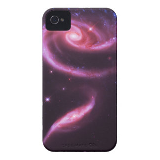 Rosa rosgalaxer iPhone 4 Case-Mate fodraler