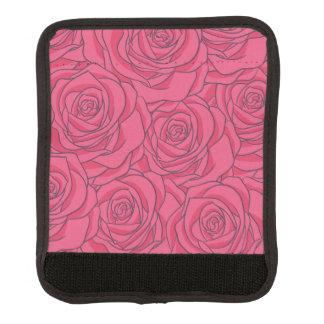 Rosa rosmönster handtagsskydd