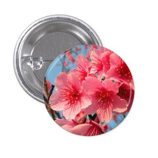 Rosa Sakura körsbär Mini Knapp Rund 3.2 Cm