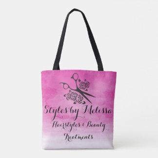 Rosa salong för anpassningsbar för ro för tygkasse