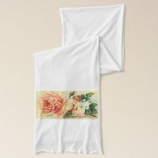 Rosa scarf för fe halsduk