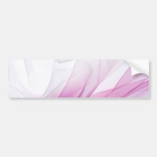 Rosa silke bildekal