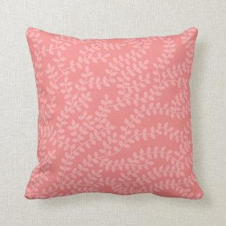 Rosa skog kudde