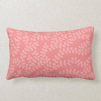 Rosa skog lumbarkudde