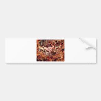Rosa slott Ibis i Vesineten av Giovanni Boldin Bildekal
