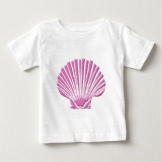 Rosa snäckskal tee shirts