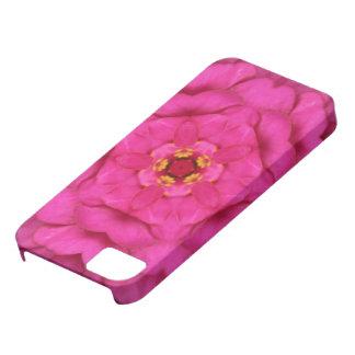 Rosa symmetri iPhone 5 Case-Mate fodral