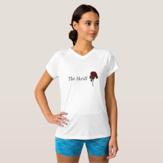 Rosa T-tröja för kortärmad T-shirts
