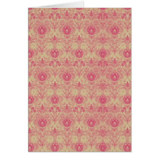 Rosa Tapestry~-kort/inbjudningar OBS Kort