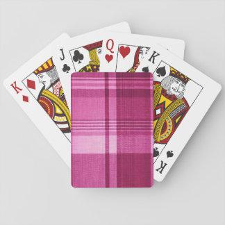 Rosa Tartan Casinokort