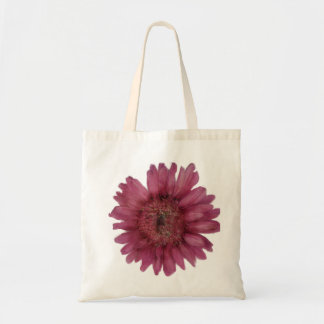 Rosa toto för Gerber daisybudget Tote Bags