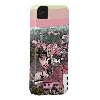 Rosa Town iPhone 4 Case-Mate Fodraler