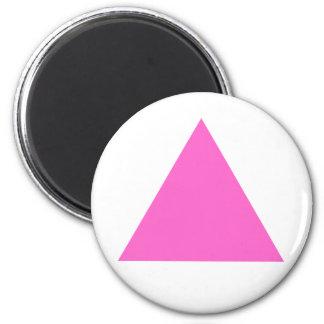 Rosa triangel magnet