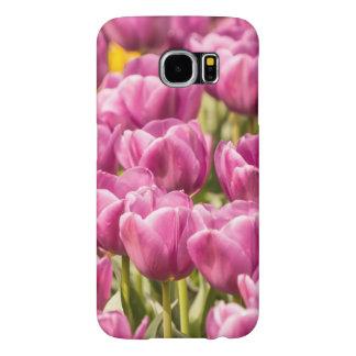 Rosa tulpan - fodral för Samsung galax S6 Galaxy S5 Fodral
