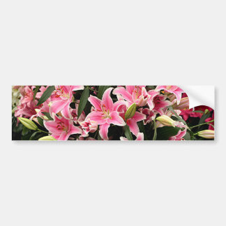 Rosa- & vitliliums bildekal