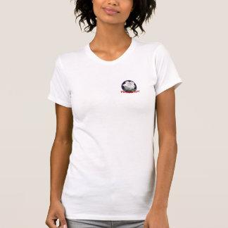 Rosa vitt-skjorta för fantom tee