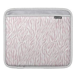 Rosa zebra tryck sleeves för iPads
