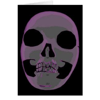Rosa Zombie Hälsningskort