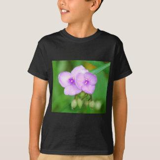 rosablomma med knoppar t-shirt