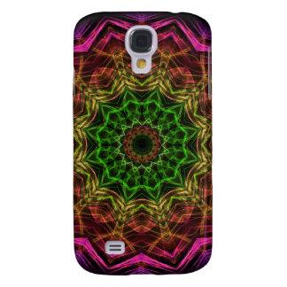 Rosablommakaleidoscope Galaxy S4 Fodral