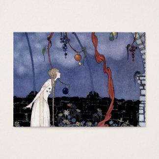 Rosalie och det magiska plommonträd visitkort