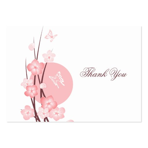 Rosan blommar fjärilstackkortet set av breda visitkort