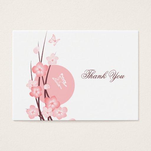 Rosan blommar fjärilstackkortet visitkort